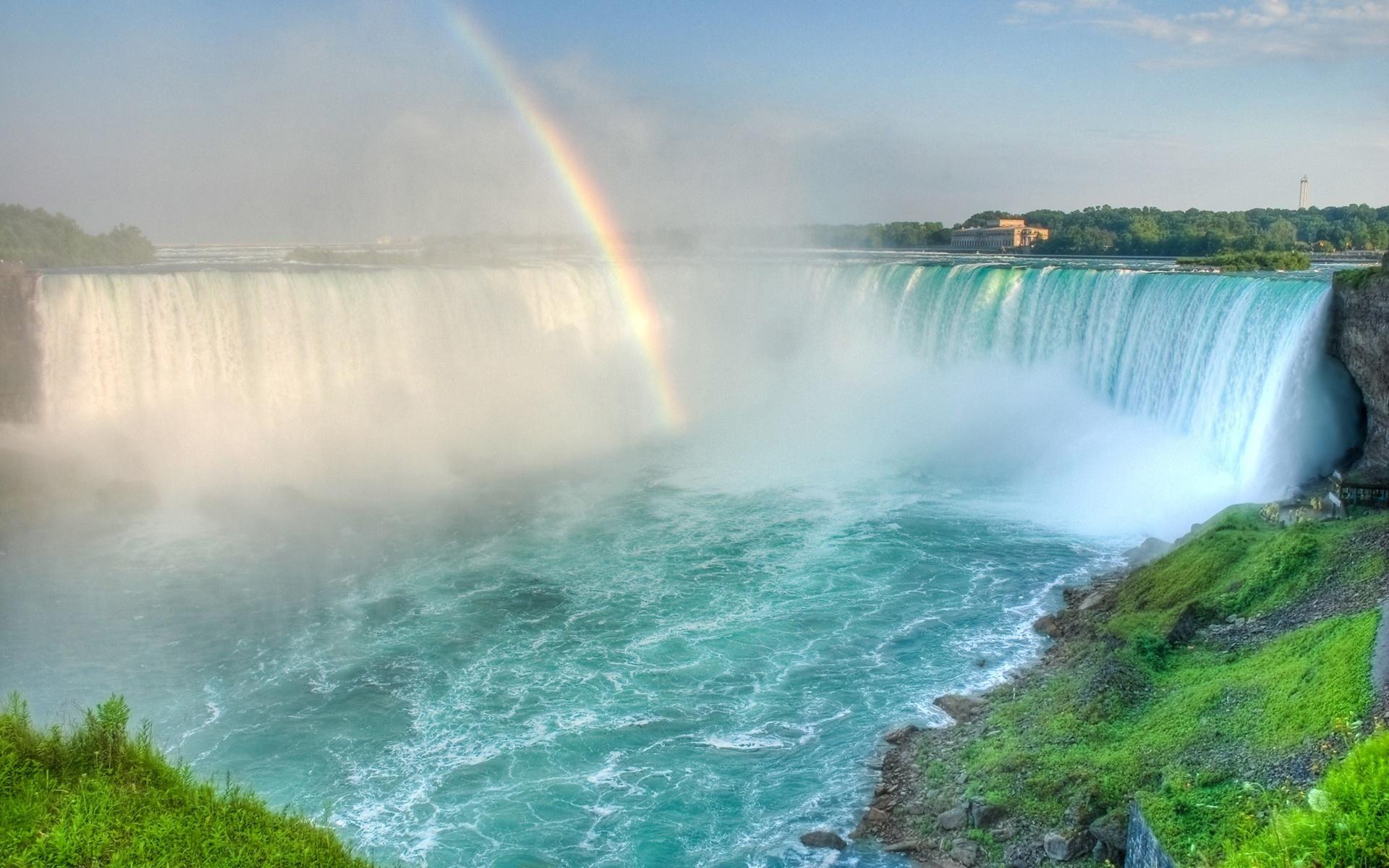 Lexus Models 2016 >> Rainbow in the waterfall - beautiful nature wallpaper