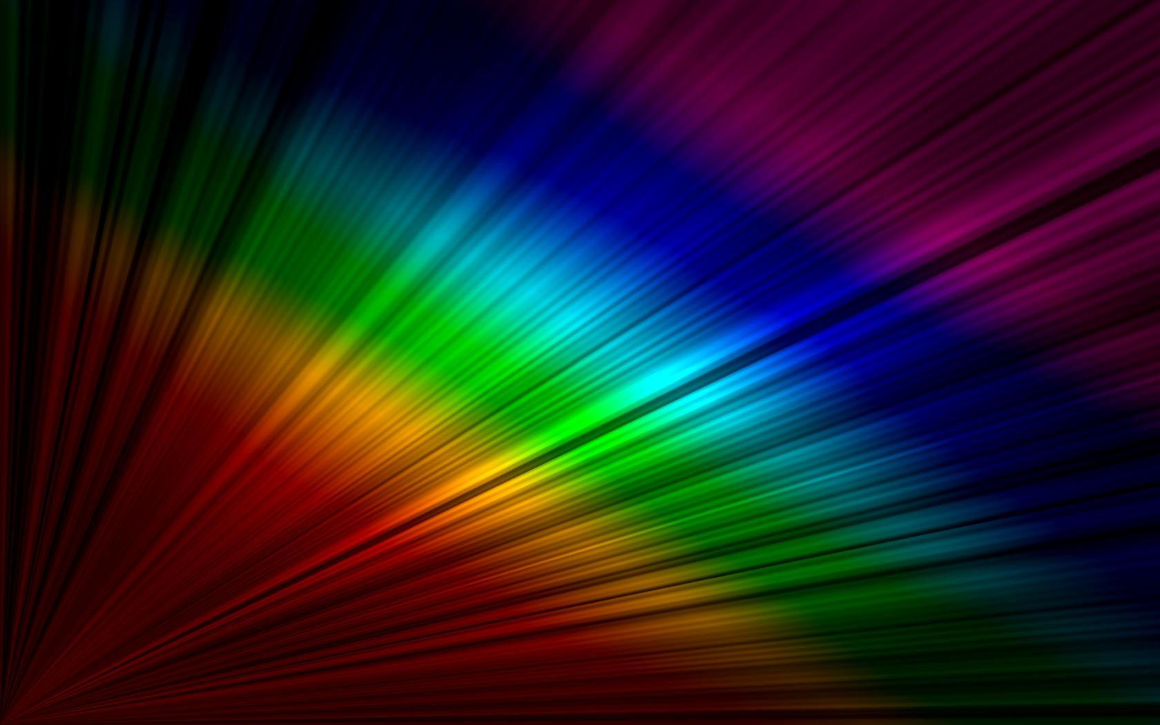 Rainbow Wallpaper Desktop: Rainbow On The Desktop