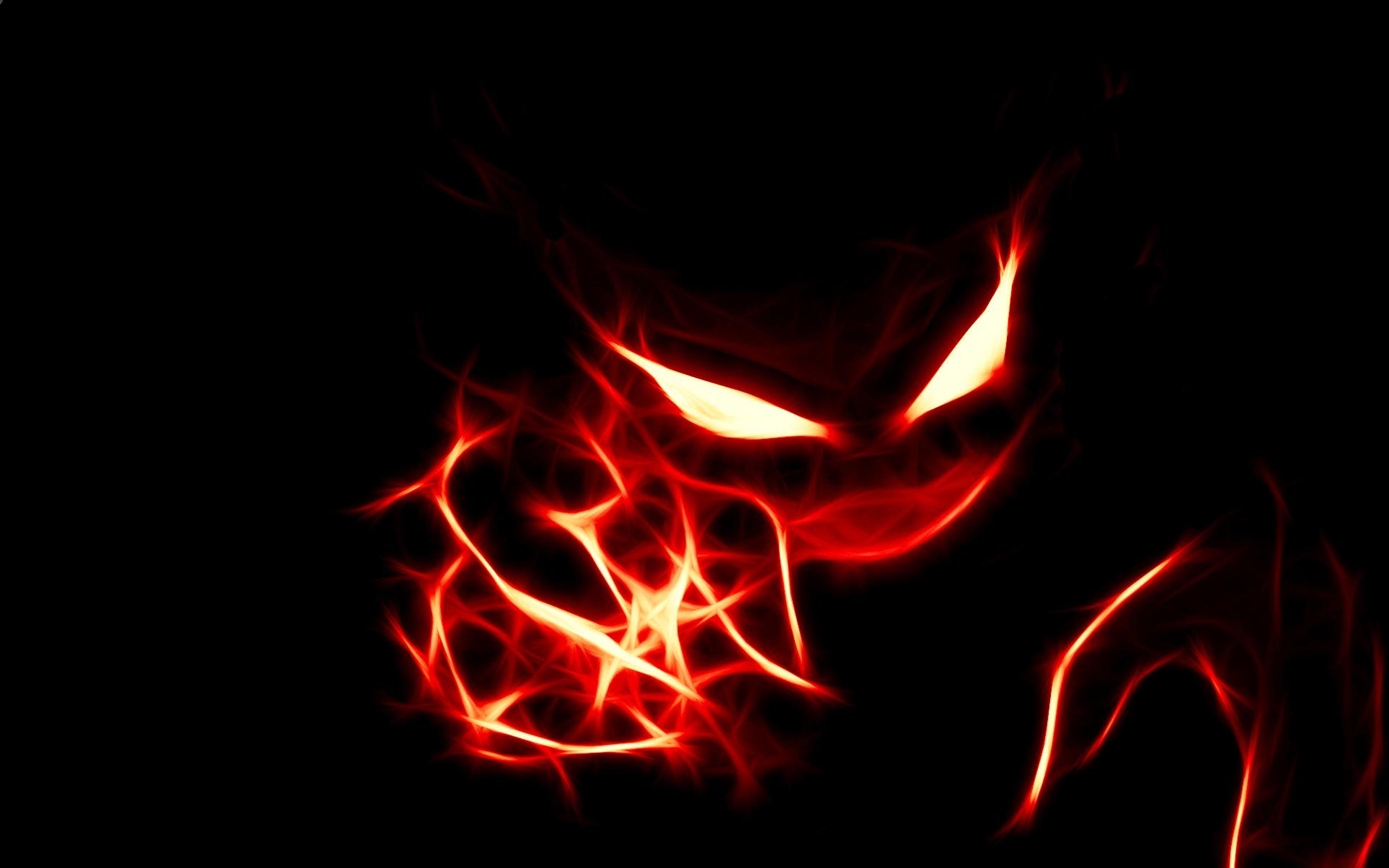 Download Wallpaper 5120x3200 Red Eyes From An Evil Pokemon