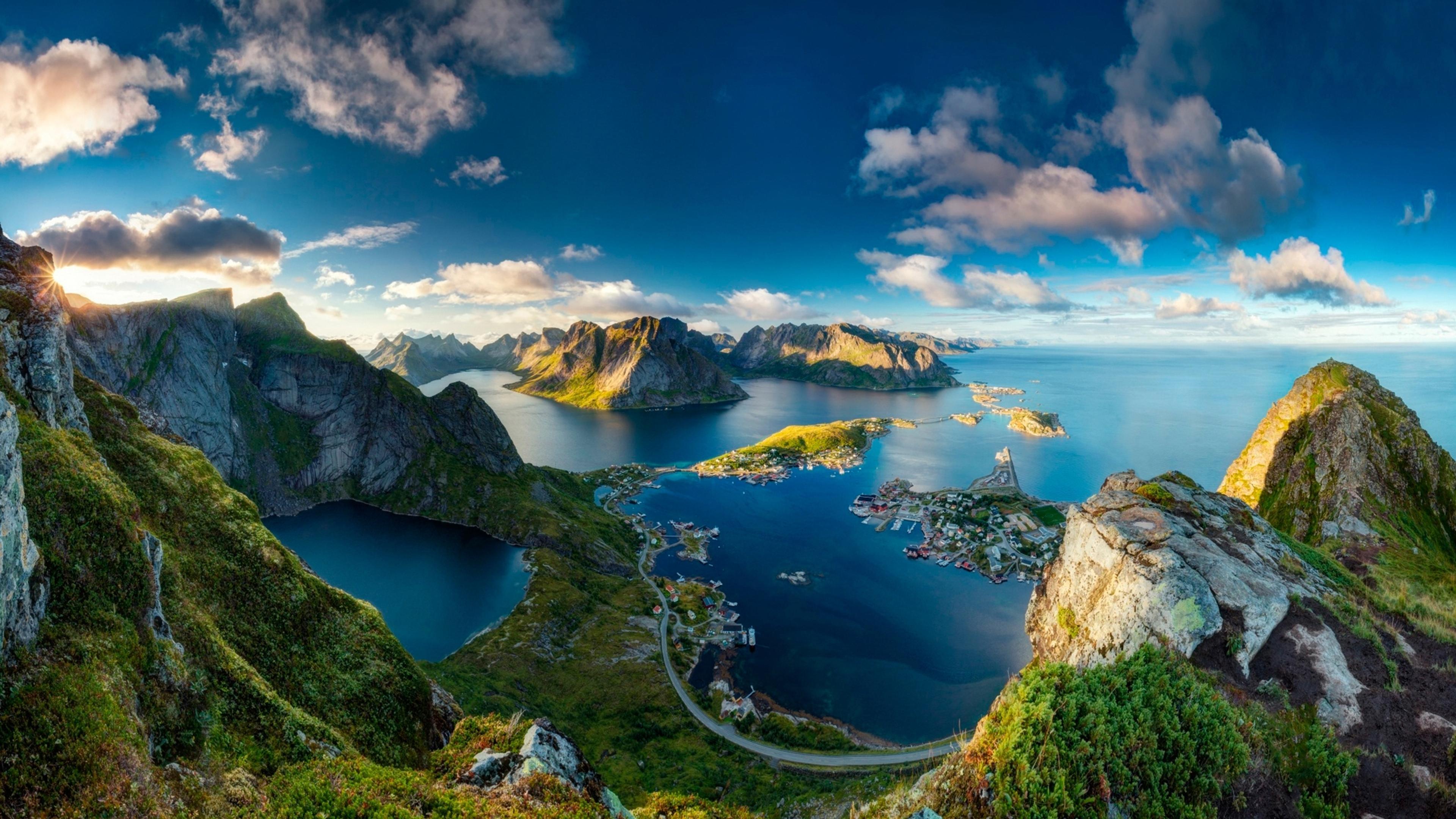 Coffee And Cars >> Reinebringen Norway - Stunning landscape Wallpaper Download 3840x2160