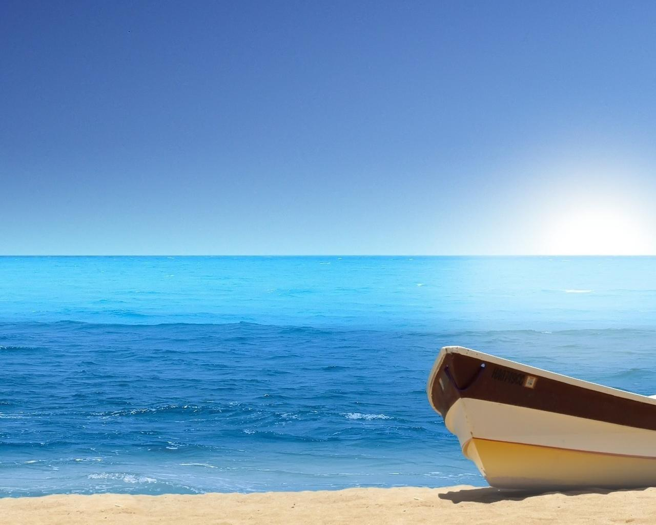 Relaxing Time At The Seaside Summer Holiday Wallpaper