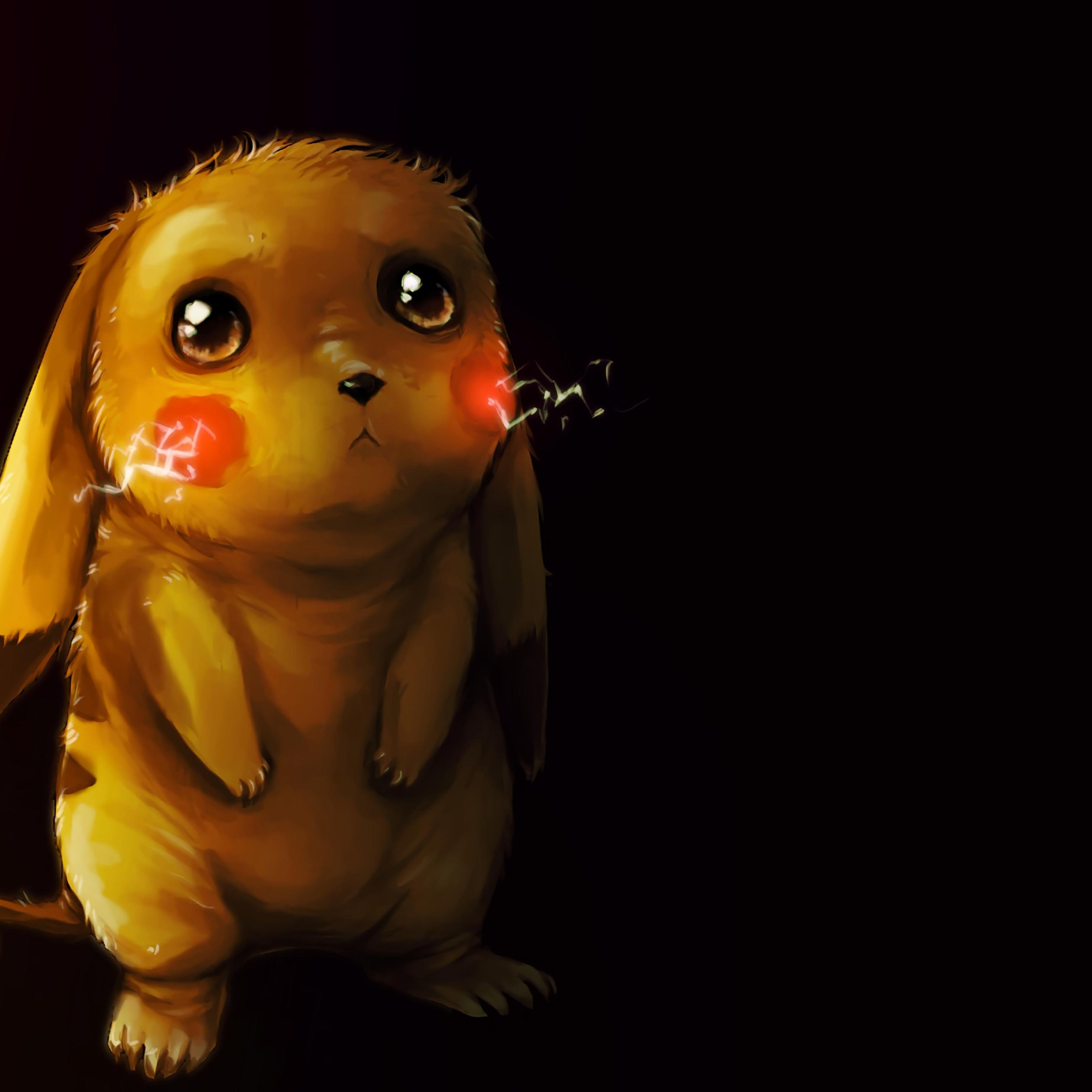 Sad Pokemon Puppy Eyes Wallpaper Download 2524x2524