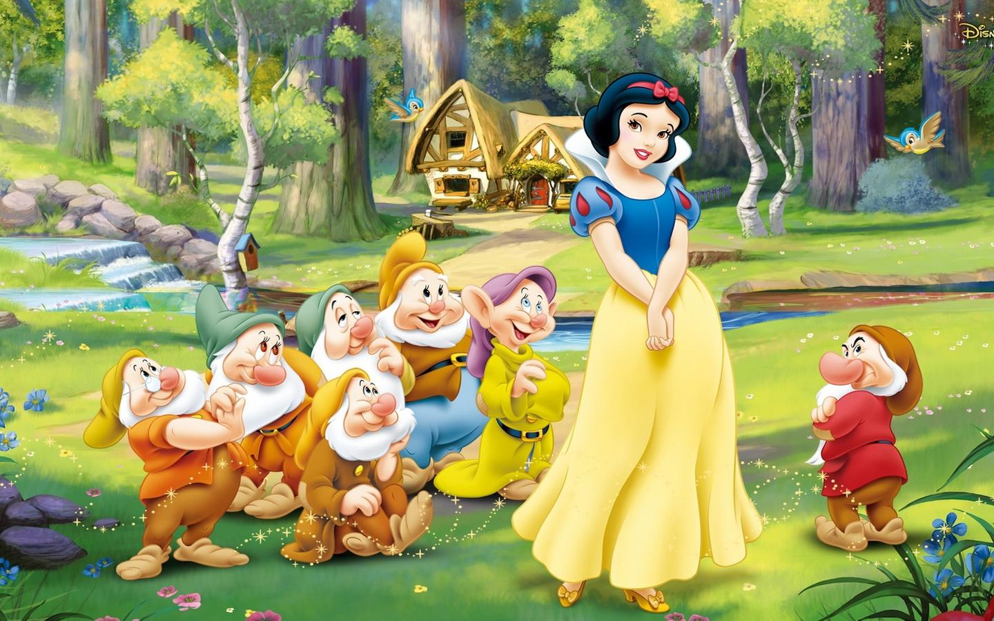 Snow white and the seven dwarfs 3d  porn pictures