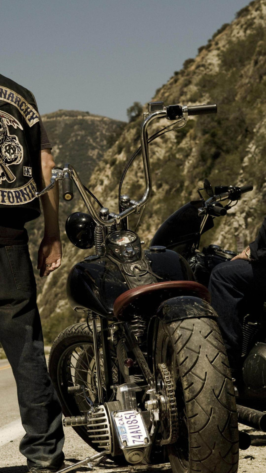 Sons Of Anarchy Scene Movie Wallpaper Download 1080x1920