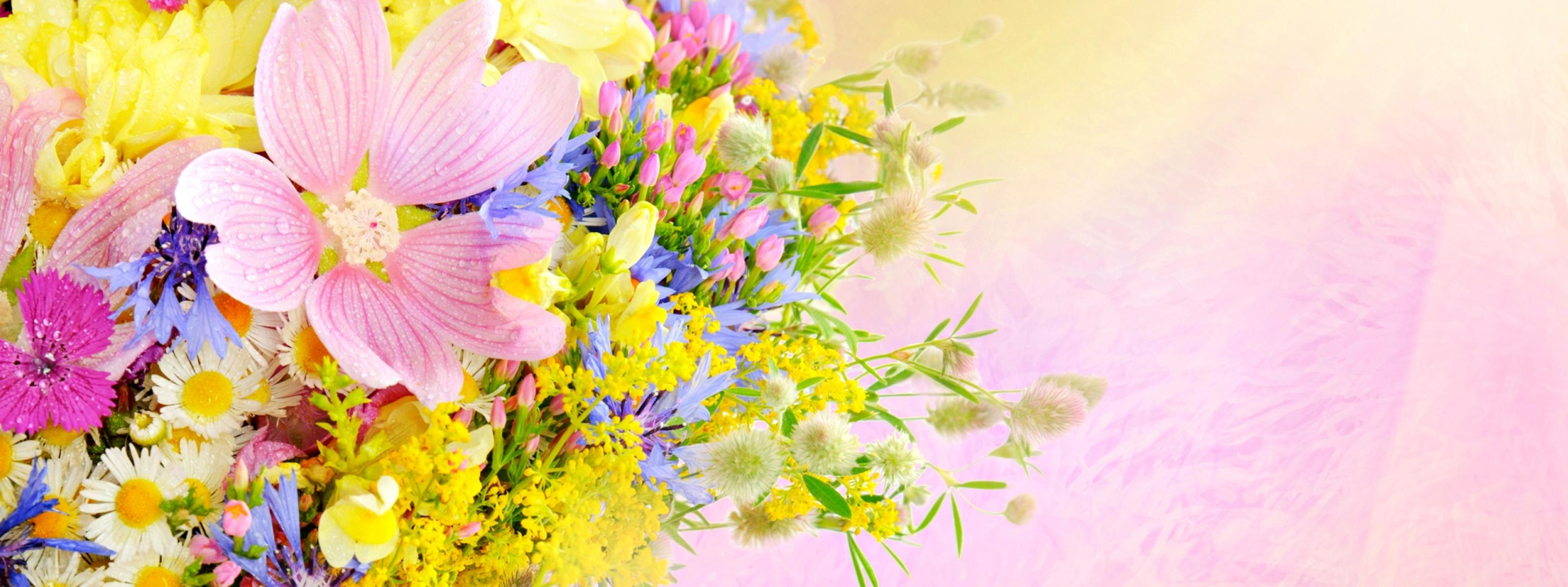 Spring flower perfume wonderful bouquet wallpaper download 3200x1200 download wallpaper 3200x1200 spring flower perfume wonderful bouquet mightylinksfo