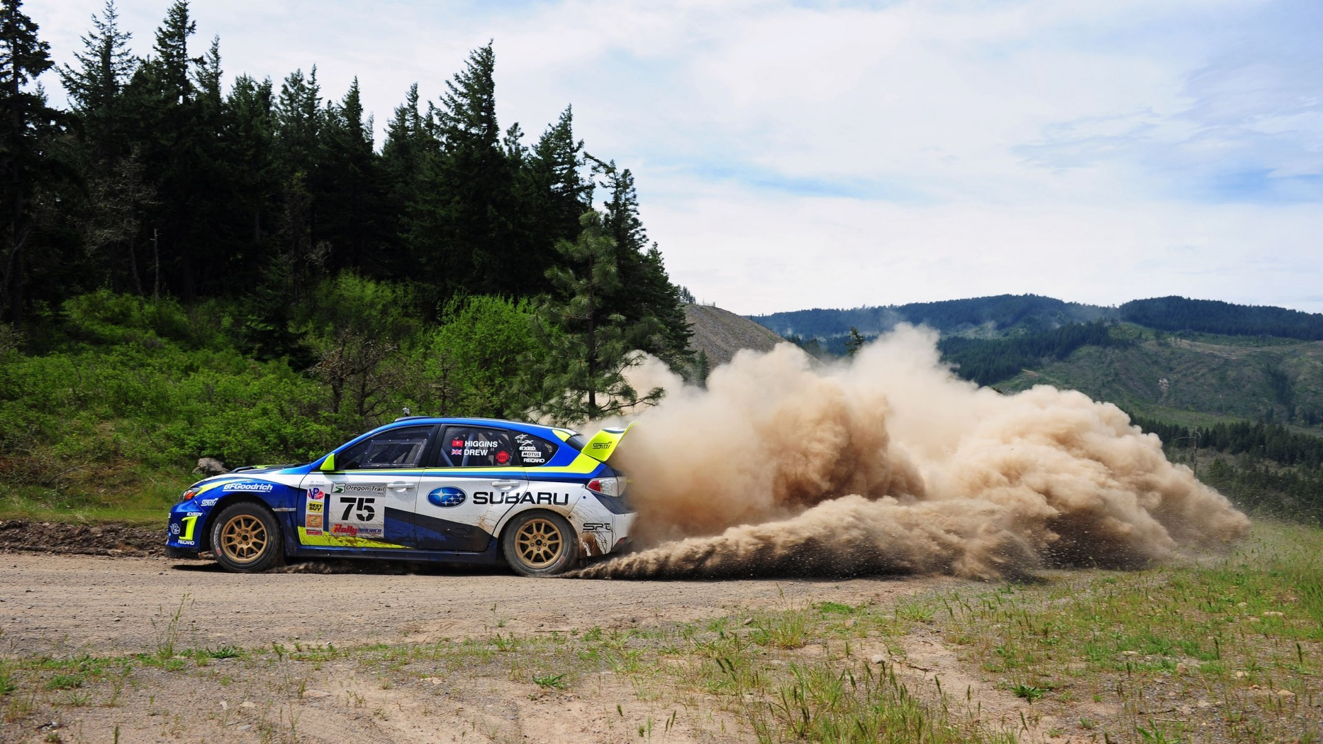 Subaru Rally Team Wallpaper Subaru Wrx Sti Rally Team
