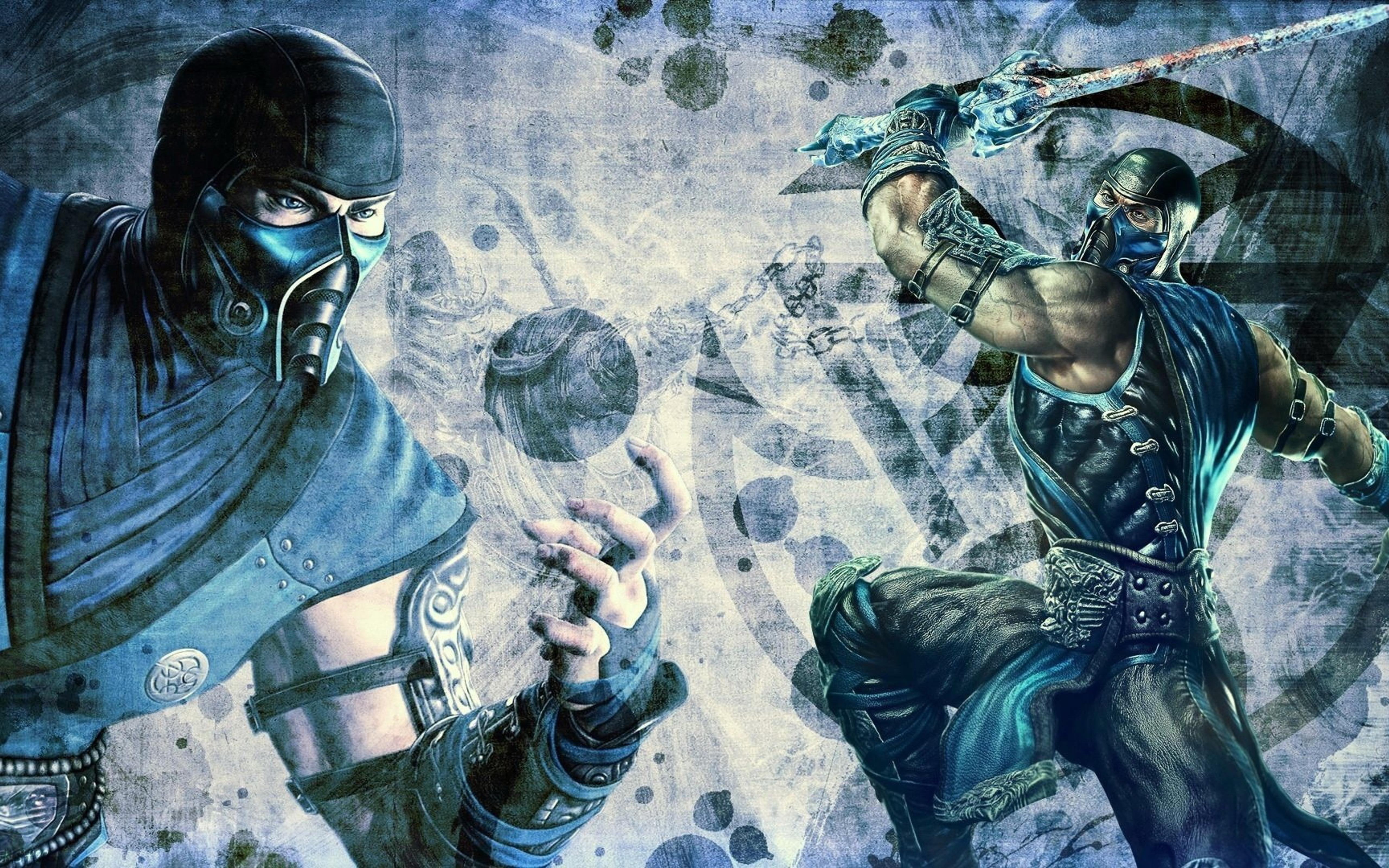 Download Wallpaper 5120x3200 Subzero From Mortal Kombat
