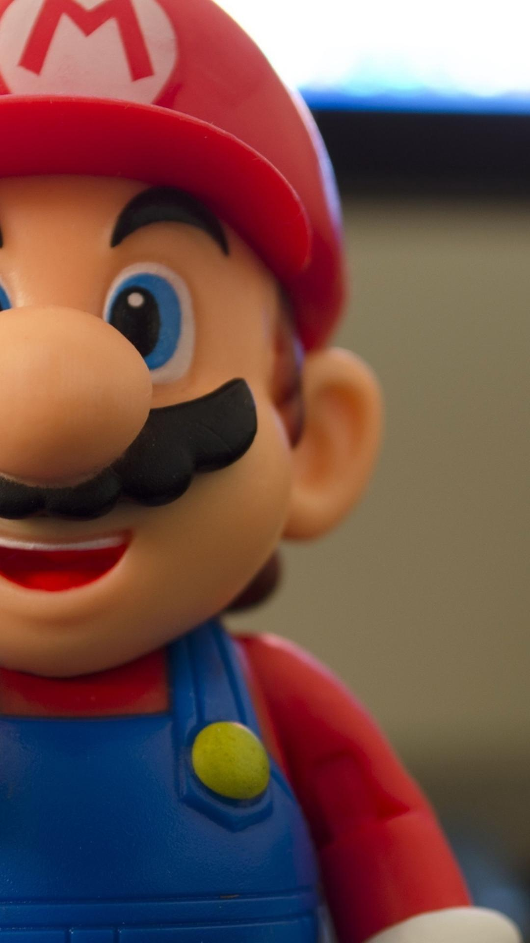 Hd wallpaper 1080x1920 - Super Mario Figurine Hd Game Character Wallpaper Wallpaper Download 1080x1920
