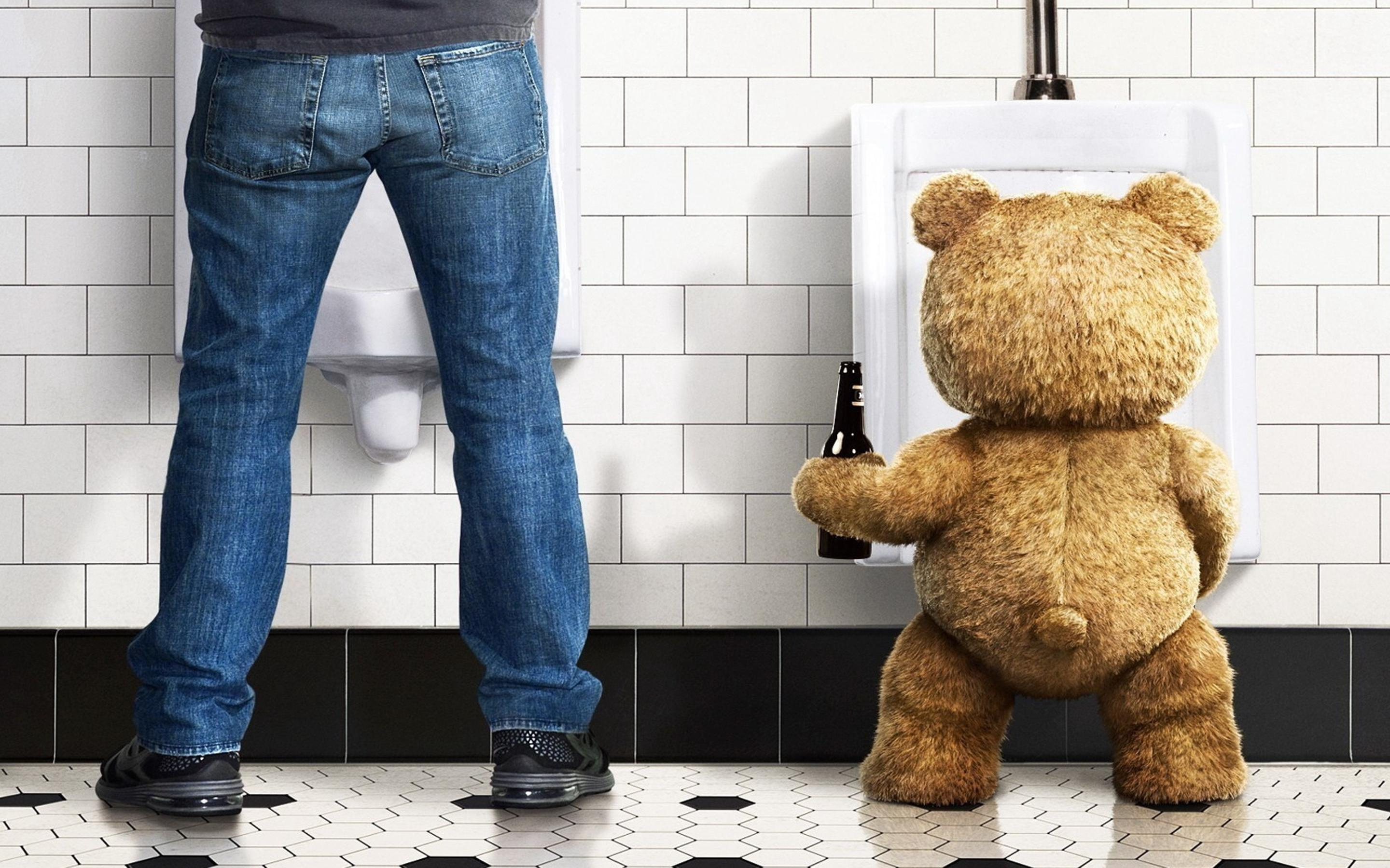 ted bear and his friend in the ted movie wallpaper download 2880x1800