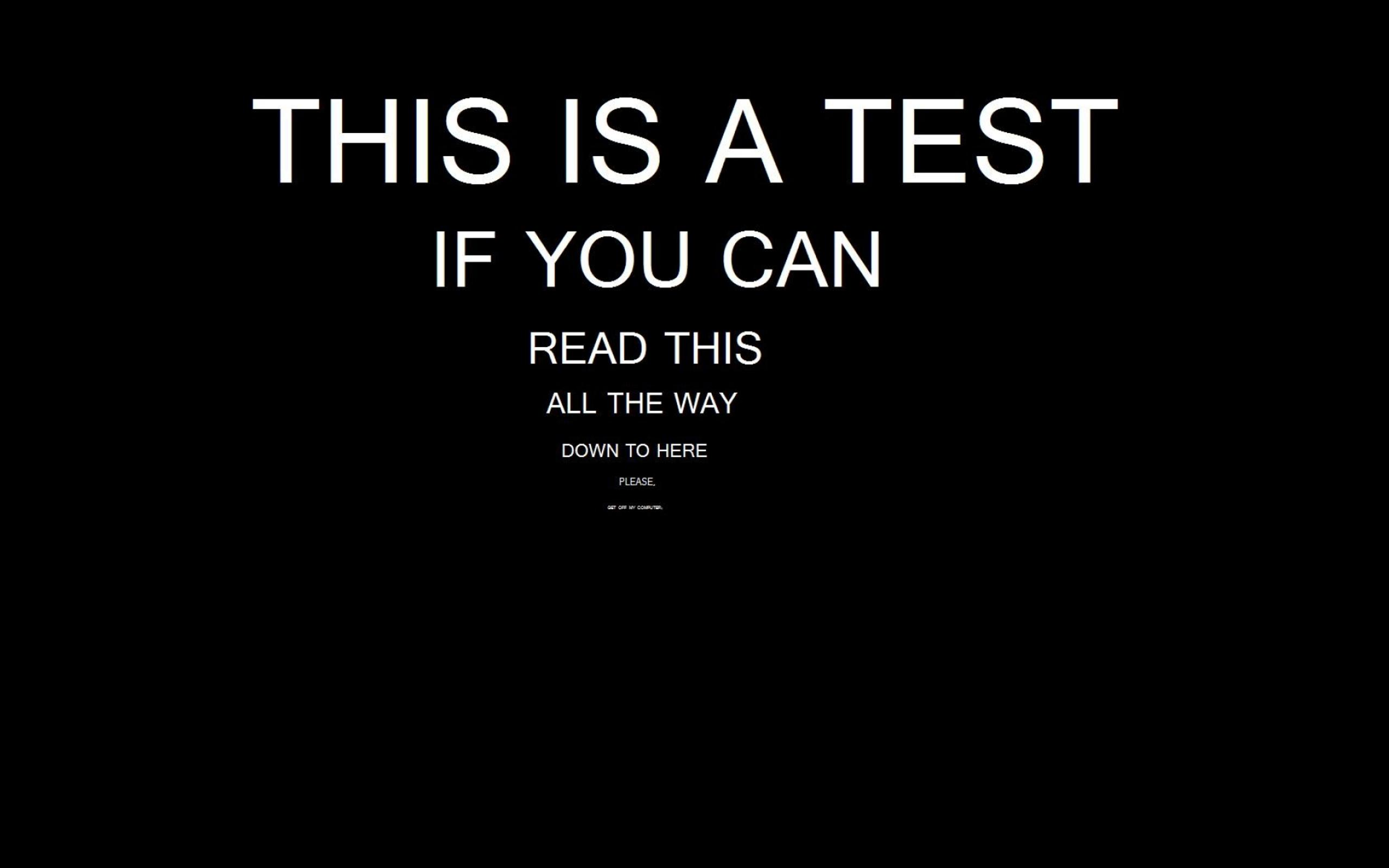 test for reading - funny hd wallpaper wallpaper download 2560x1600
