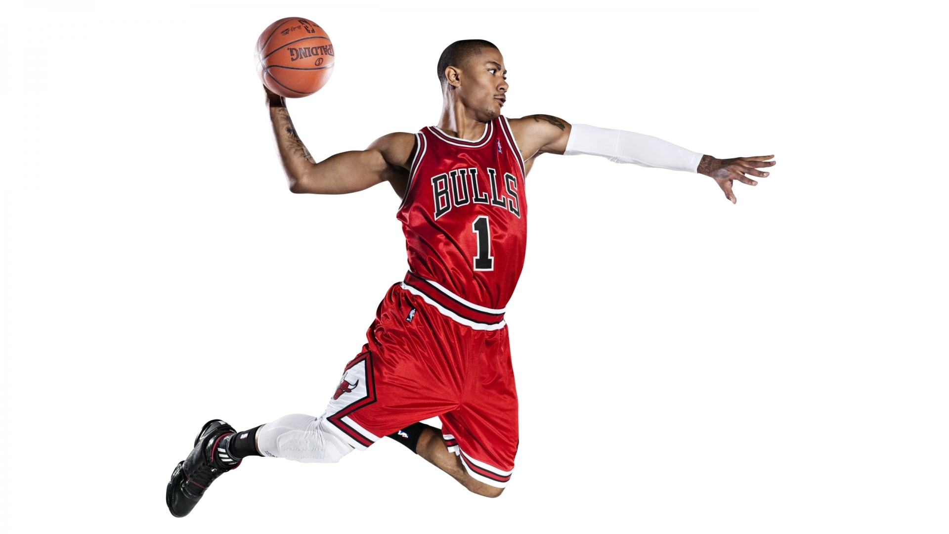 The American basketball player, Derrick Rose