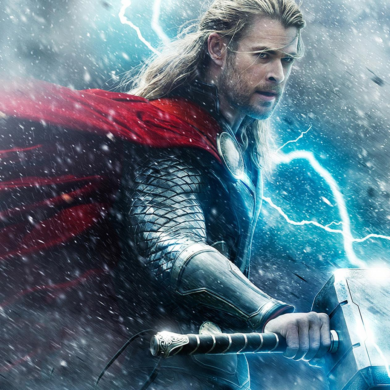 Thor hammer and thunder hd wallpaper download 1262x1262 - Thor hammer hd pics ...