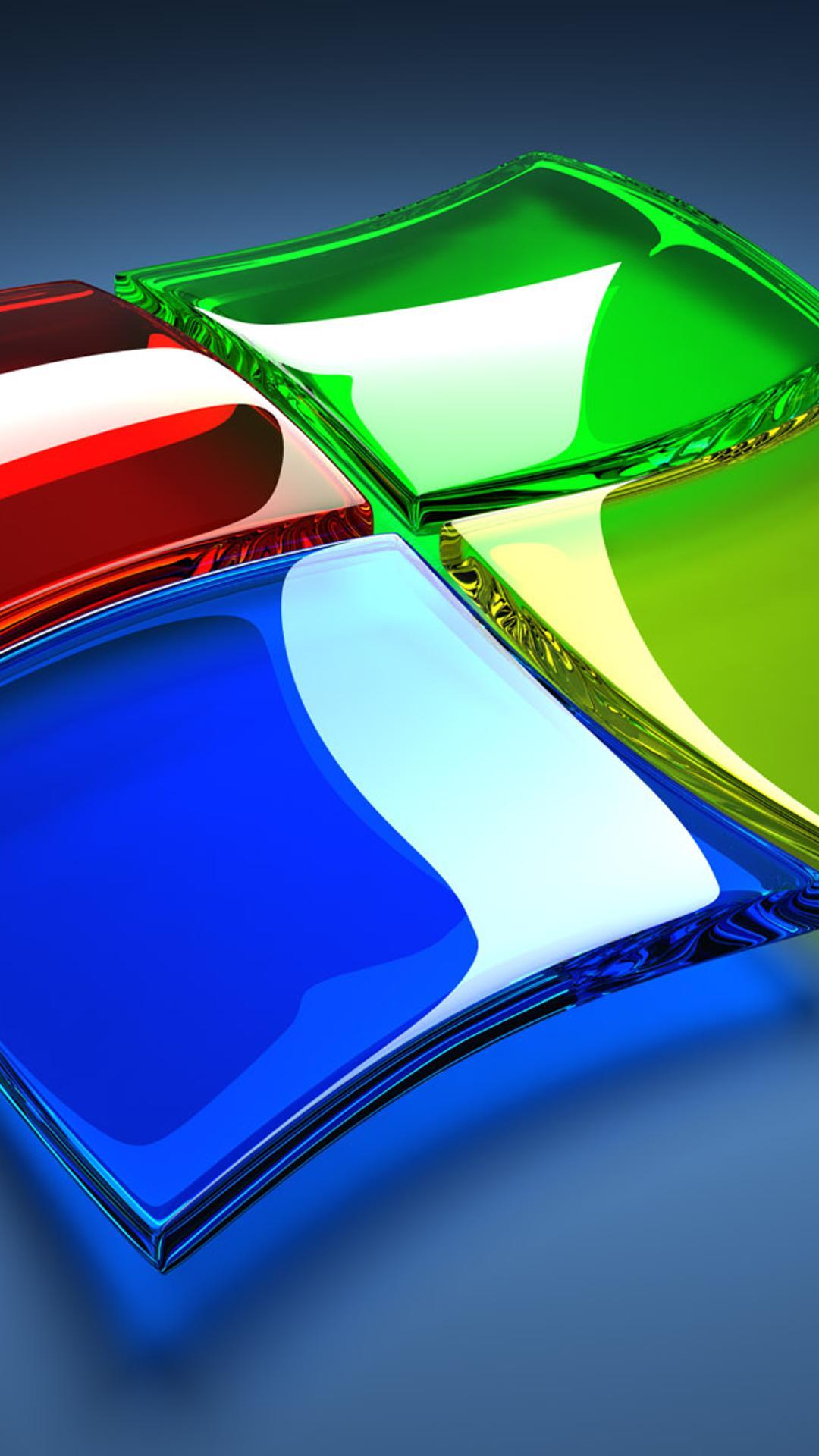 Download Wallpaper 1080x1920 Windows 7 Logo