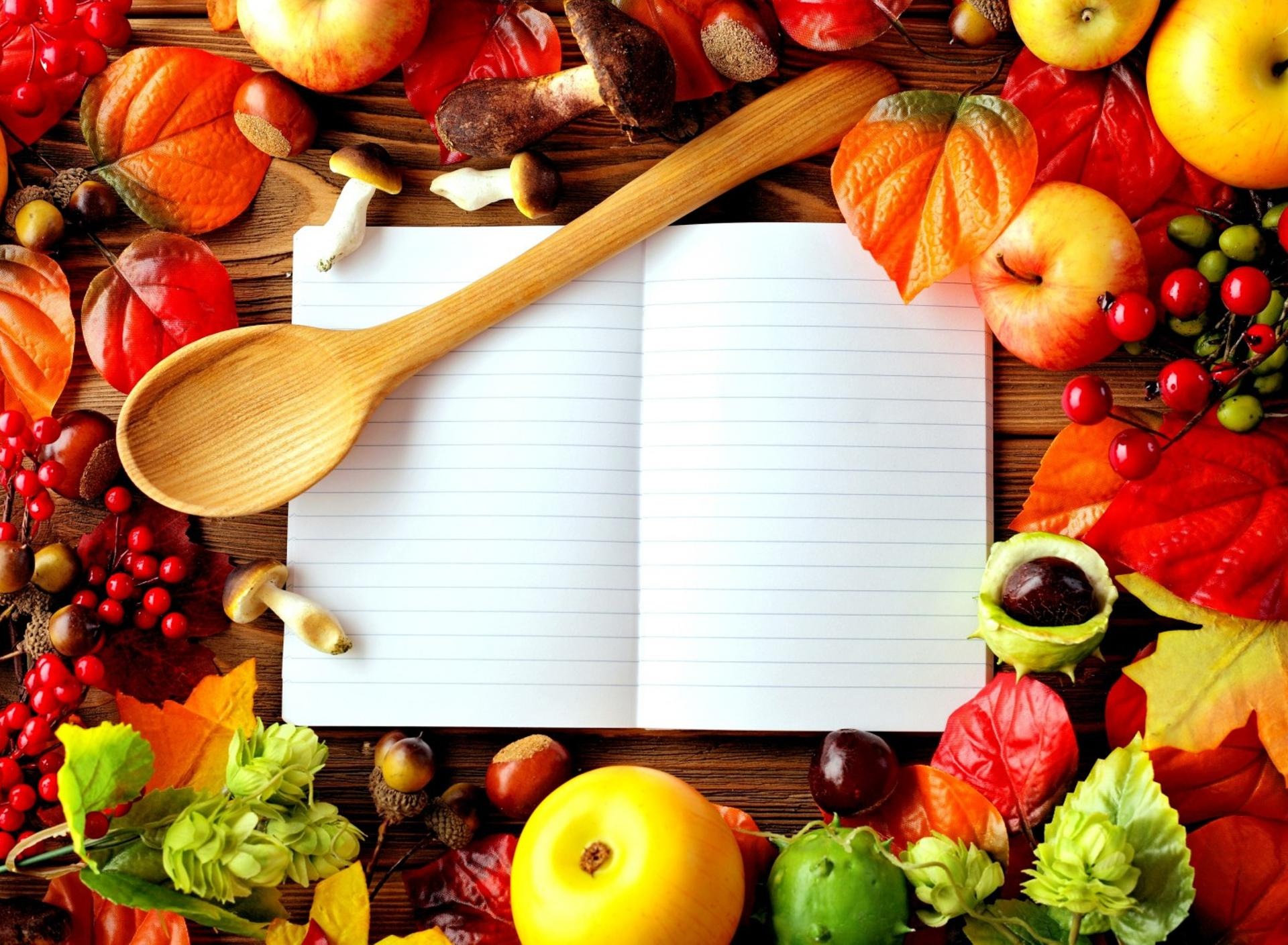 Your secret book with food recipes Wallpaper Download ...