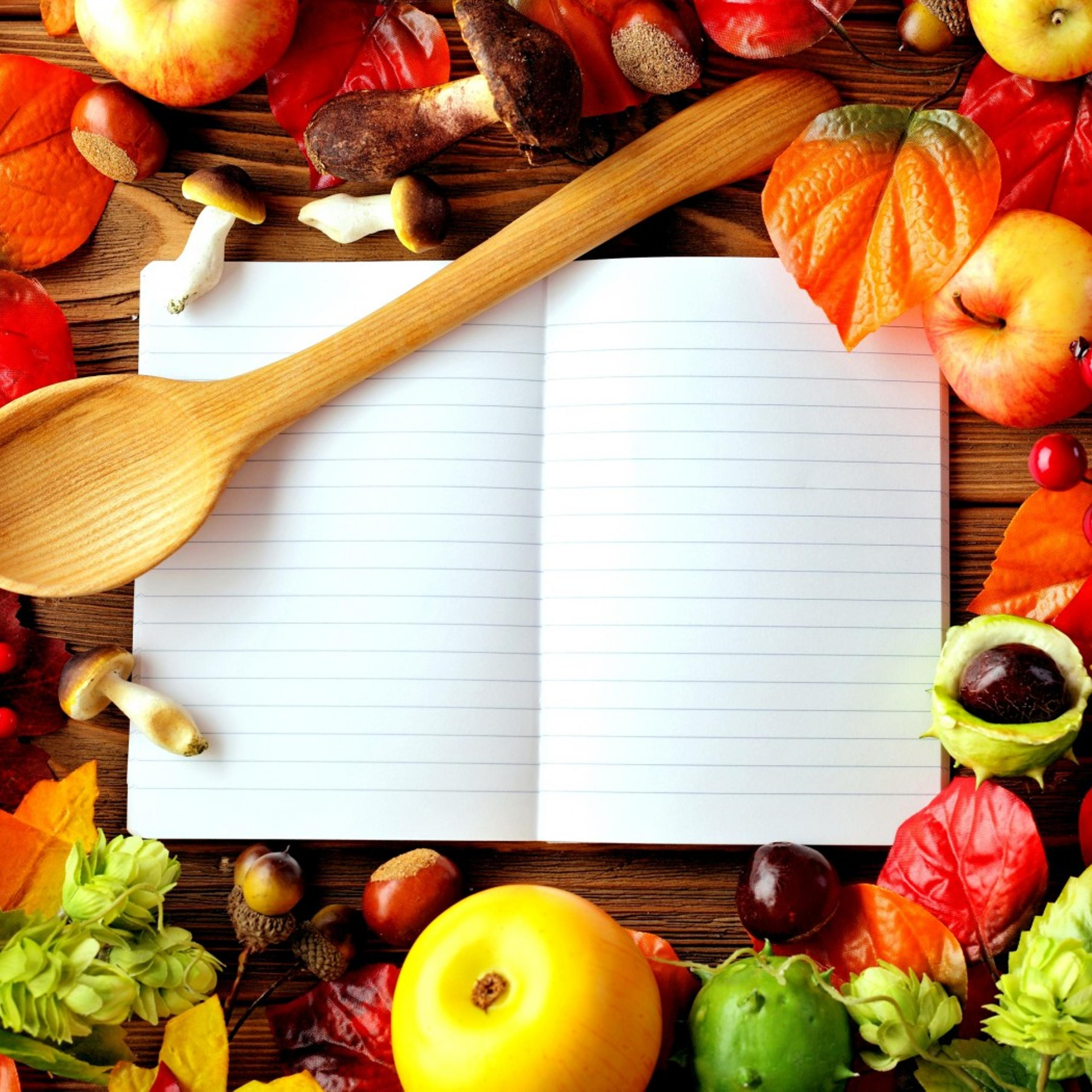 Your secret book with food recipes wallpaper download 2524x2524 forumfinder Image collections