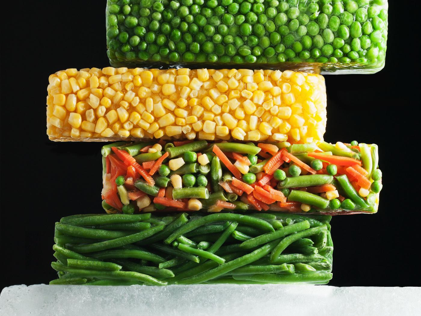 Frozen Vegetables Good For A Special Meal Hd Food Wallpaper