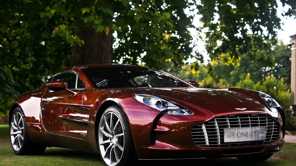 Download Wallpaper Aston Martin One 77 HD