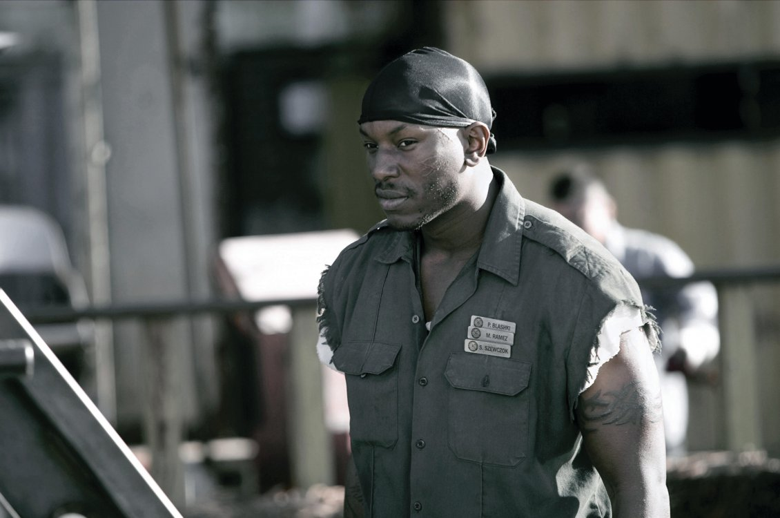 Download Wallpaper Picture with Tyrese Gibson from Death Race