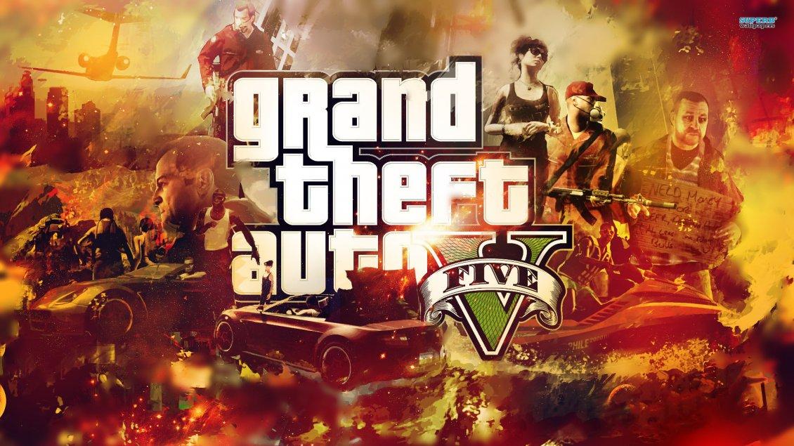 Grand Theft Auto V Logo Hd