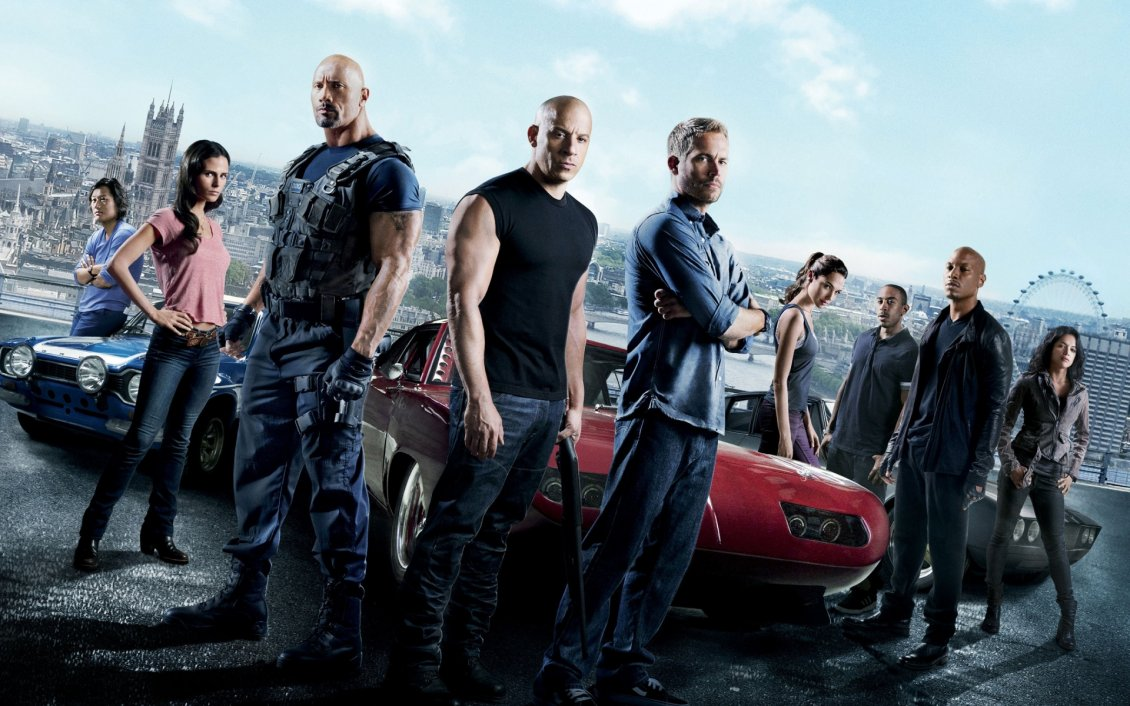 Download Wallpaper Fast and Furious wallpaper