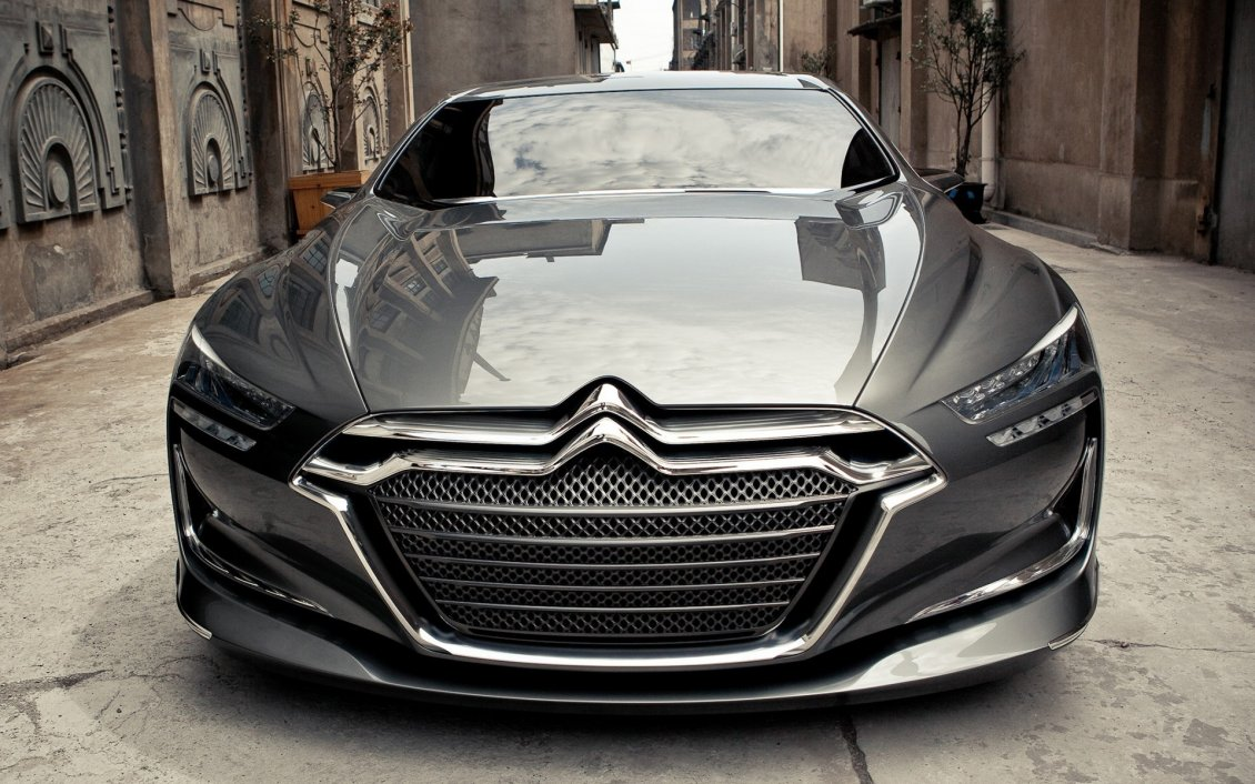 Download Wallpaper Citroen Metropolis design