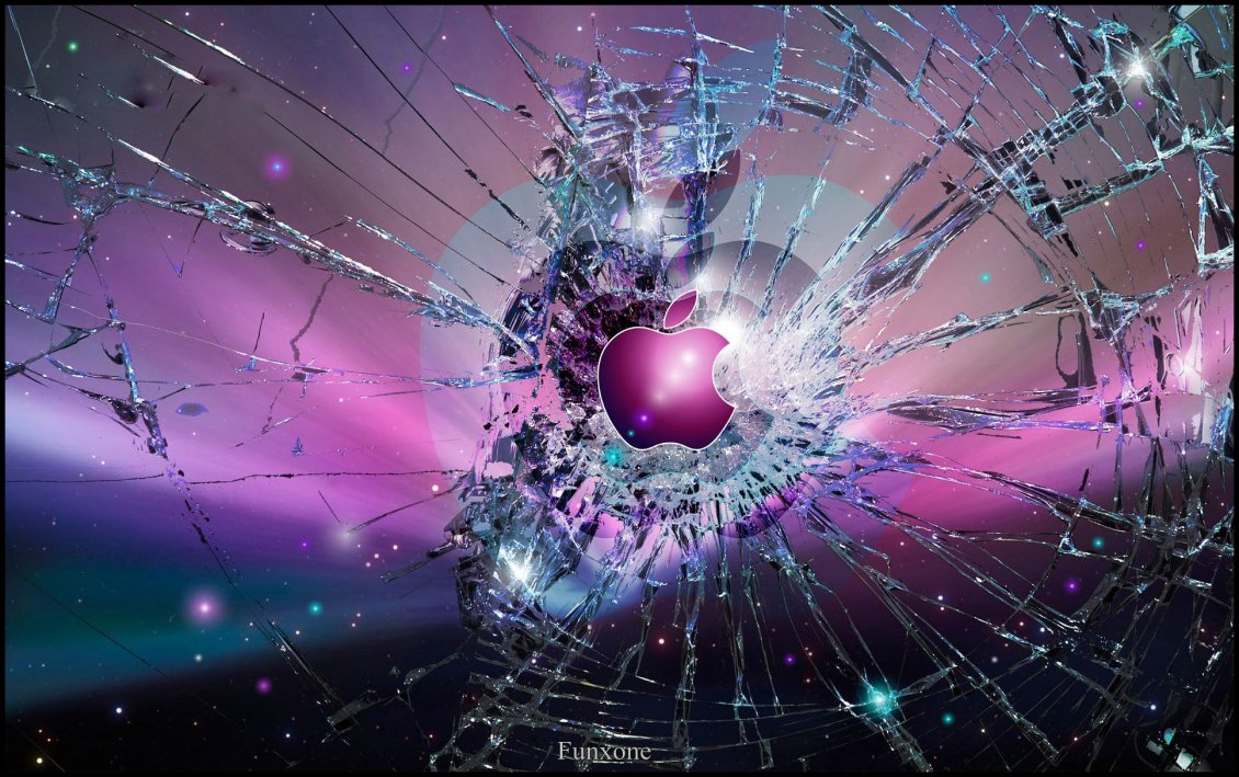 Download Wallpaper Mac and the broken windows - 3D abstract wallpaper