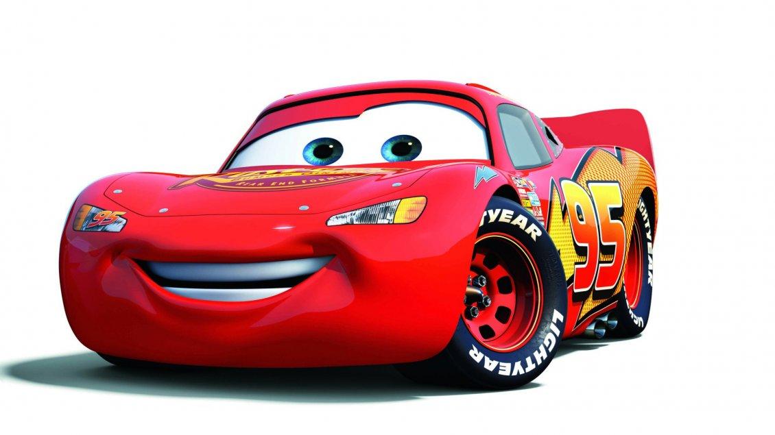 Lightning Mcqueen Red Cars Anime Car