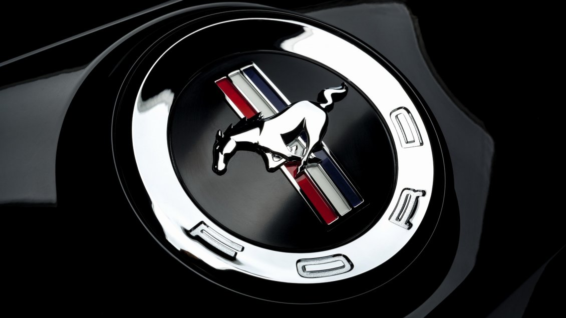 Download Wallpaper Ford Mustang Logo - Ford Brand wallpaper