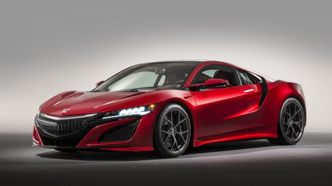Download Wallpaper Red Honda NSX - A gorgeous car