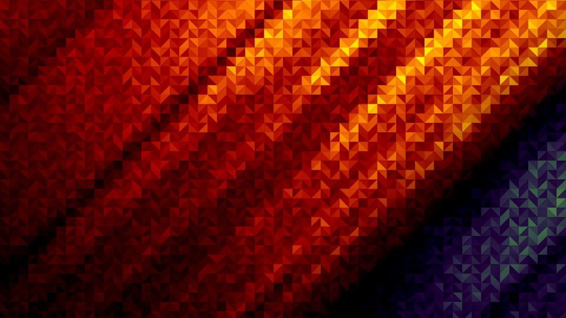 Abstract Orange And Purple Wallpaper