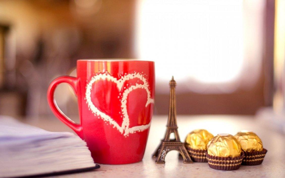 Paris Love Chocolate I Love You