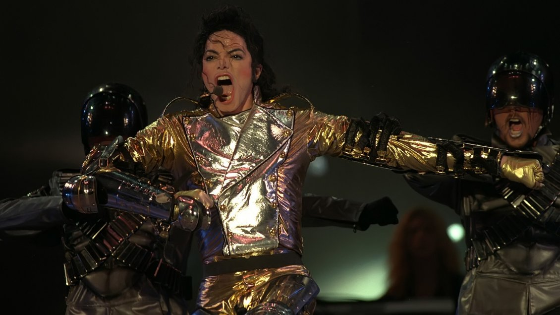 Download Wallpaper The great Michael Jackson at concert