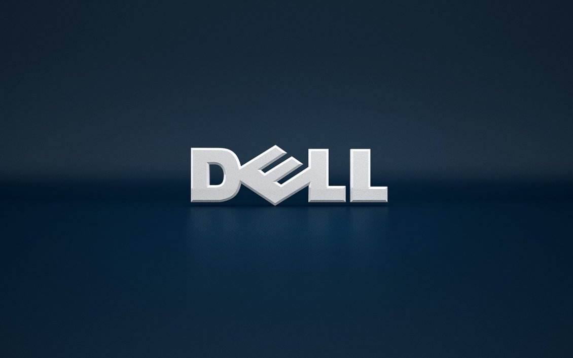 Download Wallpaper Dell logo - brand for computers