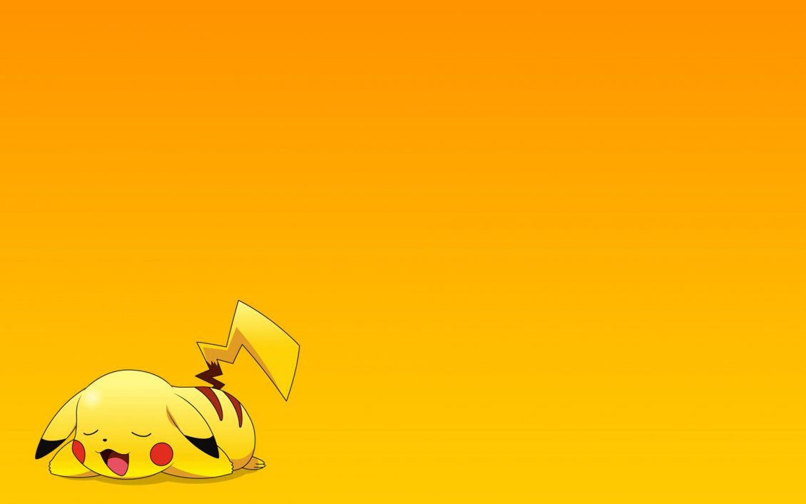 Download Wallpaper One yellow pokemon on the floor - Catch it!