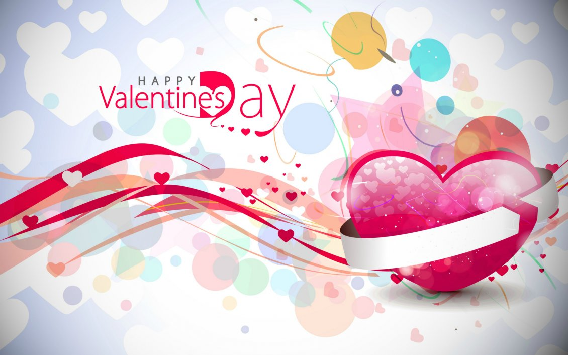 c54e17c8ce9472 Download Wallpaper Friendly and colourful wallpaper for Valentines Day