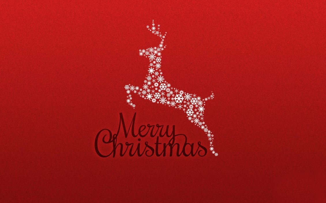 Download Wallpaper Shiny deer Rudolf - Merry Christmas kids