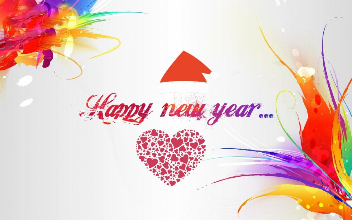 Download Wallpaper Love art and new begining - Start the new year happy 2019