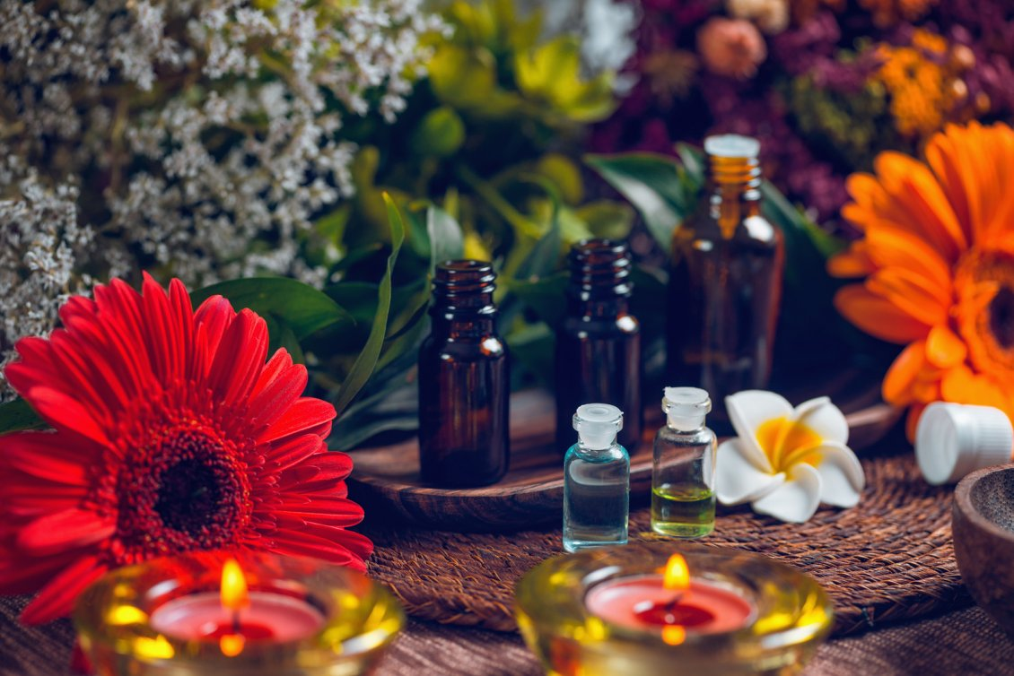 Aromatherapy With Essential Oils Relaxing Time