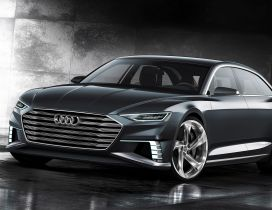 Gray Audi Prologue Avant Concept