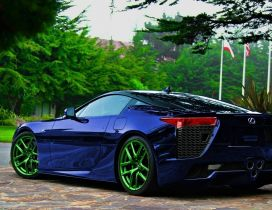 LFA Lexus metallic paint