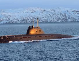 Submarine surfaced HD