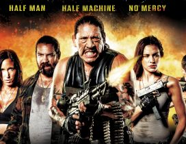Half man half machine no mercy - movie 2015