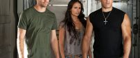 Paul Walker, Jordana Brewster and Vin Diesel