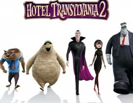 Hotel Transylvania 2 - Movie Wallpaper