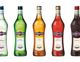 Different martini bottles - Brand martini