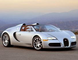 Gray Bugatti Veyron - Cars Wallpaper