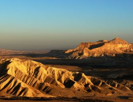 The Negev, Israel Desert Wallpaper