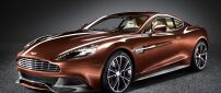 Aston Martin Vanquish - Awesome brown car