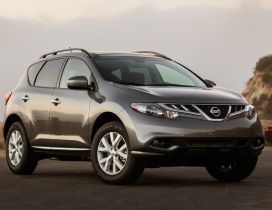 Brown Nissan Murano car wallpaper