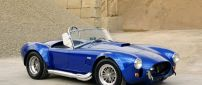Blue Shelby Cobra 427 - Convertible small car